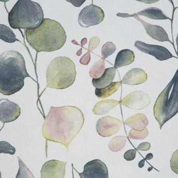 Zasłona ROSALI Biały/zielony