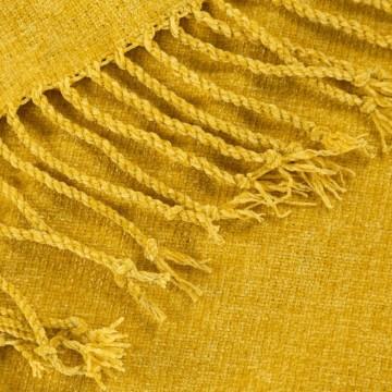 Koc AKRYL 4 Żółty
