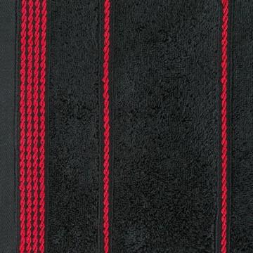 Ręcznik MIRA czarny
