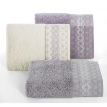 Ręcznik Simona srebrny