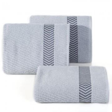 Ręcznik Mateo srebrny