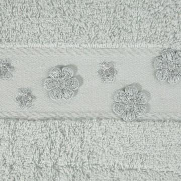 Ręcznik Dakota srebrny