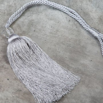 Sznur dekoracyjny INES srebrny