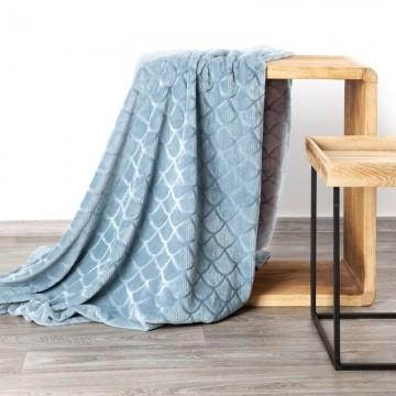 Koc Mery niebieski 170x210