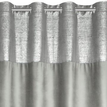 Zasłona Peri srebrny+sreb